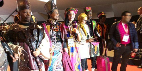 لفتيت بحال مول العرس فإفتتاح مؤتمر المدن الأفريقية: شطيح مدرح ووطنية زايدة ووزرا معيدين هنا – البوم صور