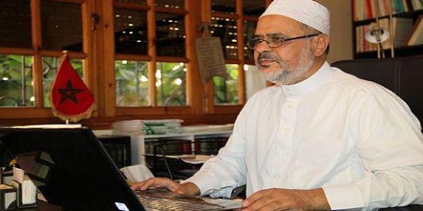 فرحة مكتومة بأحمد الريسوني! نجم الإخوان المغاربة ينتخب كابتن فريق الخريطيات القطري لعلماء المسلمين