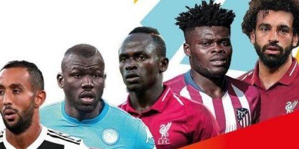 صلاح وبنعطية في قائمة المرشحين لجائزة أفضل لاعب إفريقي
