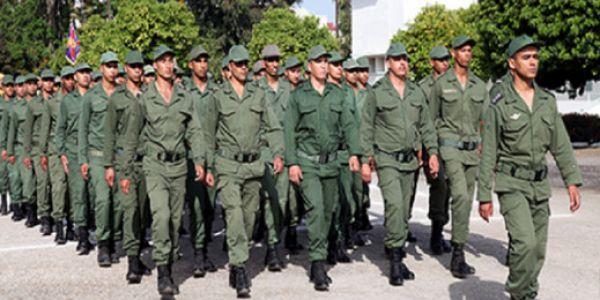 الخدمة العسكرية..أزيد من 133 ألف شخص اللّي غاديّين للتجنيد