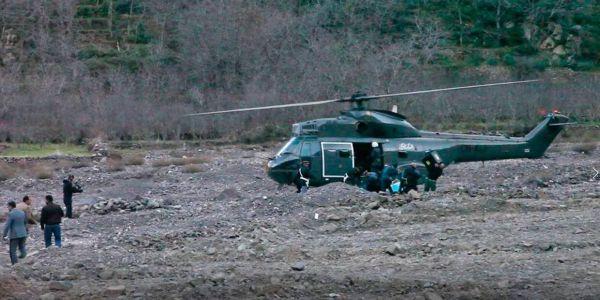 فرق خاصة بالدرك توصلات بمروحيات للتدخل والإنقاذ