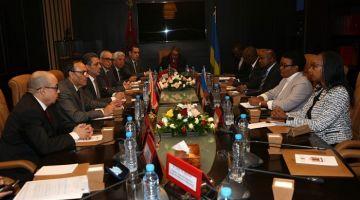 تحية إلى الملك من رئيس رواندا بول كاگامي. العلاقات بين البلدين غادة فخط تصاعدي