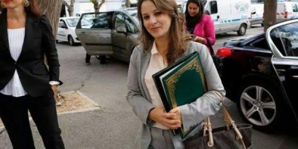شرفات أفيلال محافظة على لاطاي من بعد إعفاءها من منصبها الوزاري – صورة