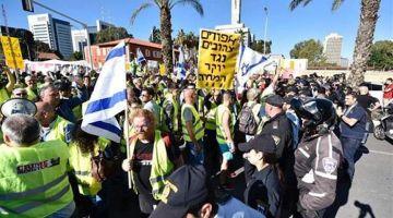 """موجة """"الجيليات الصوفر"""" وصلات لشوارع إسرائيل – صور"""