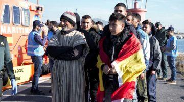 عدد الحراكة لمغاربة لي وصلو هاد العام لإسبانيا تضوبل ثمنية دالمرات على سنة 2016