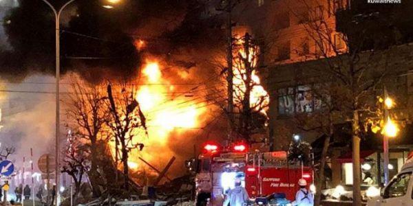إصابة كثر من 40 واحد فانفجار بمدينة سابورو اليابانية