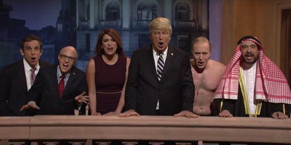 برنامج أمريكي شهير قشب مزيان على ترامب و بن سلمان- فيديو