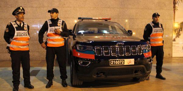 البوليس المغربي كيدرب أمنيين سواعدة على حماية الشخصيات المهمة