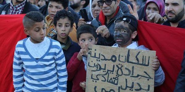 """60 عام ديال الحبس اللّي وزعات غرفة الجنايات فوجدة على نشطاء """"حراك جرادة"""""""