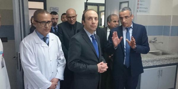 الوزير الدكالي دار صابونة لجوج مسؤولين فقطاع الصحة