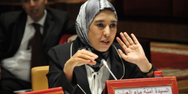 إسلامية اكثر تقدمية من زعيمة اليسار..ماء العينين كتعاطف مع لمحرشي: لمست اثر الاذى والعنف على نفسيتها