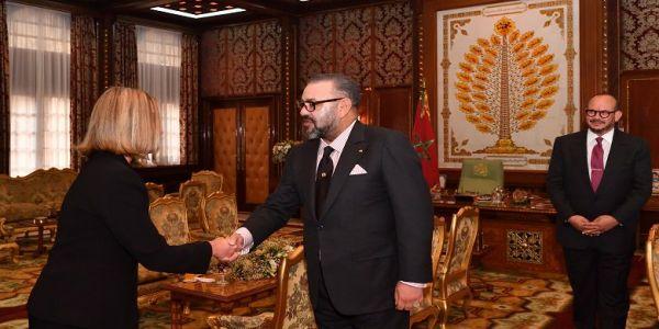 الملك استقبل الممثلة العليا للسياسات الخارجية فالإتحاد الأوروبي