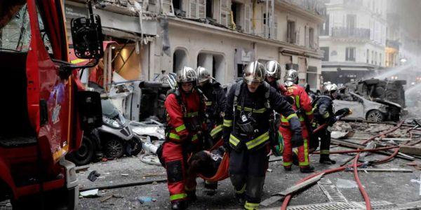 الشرطة الفرنسية: انفجار قوي فباريس.. وكاين ضحايا – صور