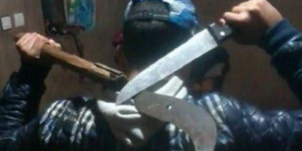 عصابة قهرات فاسة بشفارة الموتورات والتليفونات اطلع زعيمها برهوش عندو 15 لعام