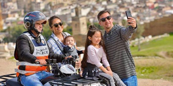 البوليس كايشجع السياحة ف فاس – صور