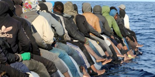 توقيف 25 افريقي كانوا غاديين يحرگو لاسبانيا