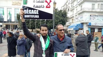 نايضة فالجزائر.. شبكات بين البوليس والمتظاهرين ضد ترشح بوتفليقة