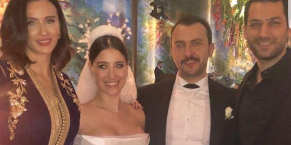القفطان المغربي حاضر ناظر فعرس أشهر ممثلة تركية – صور