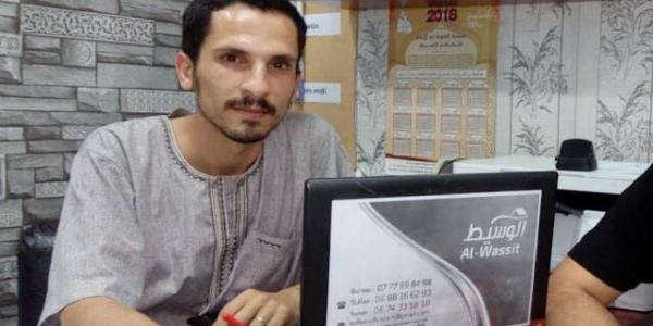 إستئنافية تطوان نقصات الحكم على الناشط سفيان النگاد لعام دالحبس