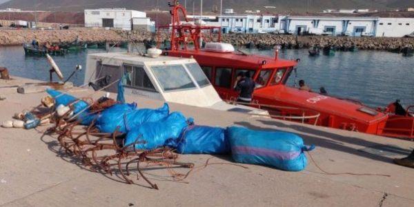 توقيف 13 القارب كيصيدو بشكل غير قانوني فسواحل إيفني