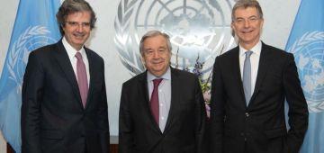 الصحراء. كَوتيريس وفرنسا وألمانيا كيوجدو لبروكَرام مجلس الأمن فمارس وأبريل