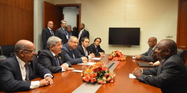 جنوب إفريقيا والجزائر كينسقو جهودهم لندوة تضامنية مع البوليساريو الشهر الجاي.