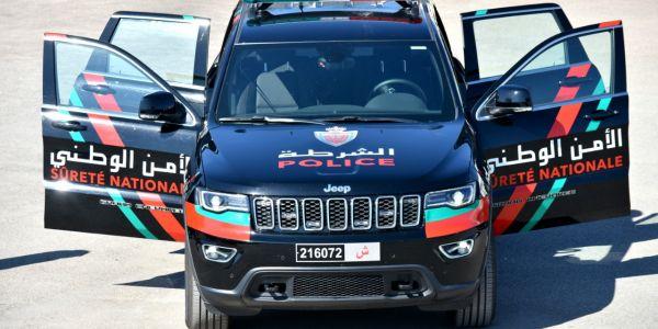 إدارة الأمن جددات سيارات فرق التدخلات لمكافحة المخاطر الخطيرة