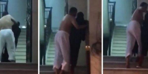 شدو سعودي وهو عريان وكيضرب فمرا وكيدخلها صحة – فيديو