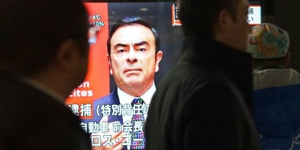 """محكمة يابانية طلقات سراح كارلوس غصن باطرون """"رونو نيسان"""" سابقا ب8.9 مليون دولار كفالة"""