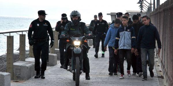 مرصد الشمال لحقوق الانسان محيح على الخلفي بسبب ترحيل القاصرين من اسبانيا