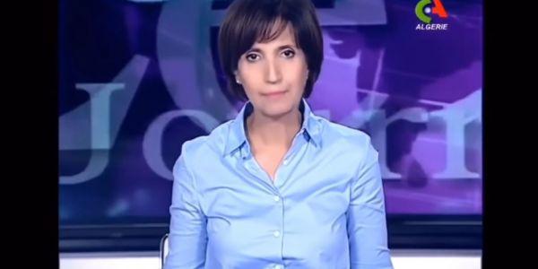 مذيعة جزايرية حطات استقالتها بعد اجبارها على قراءة رسالة بوتفليقة – فيديو