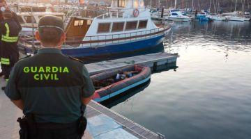 الانقاذ البحري الاسباني كيقلب على ثلاثة ديال الحراگة مغاربة مابان ليهم أثر ونقذ خمسة آخرين