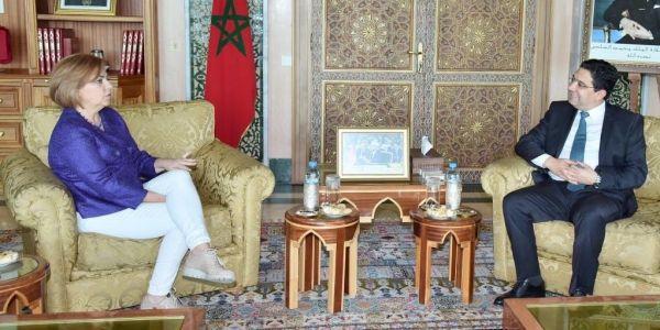 نائبة رئيس المجموعة الإشتراكية بالبرلمان الاوروبي فرحانة بالتفاقيات التجارية مع المغرب