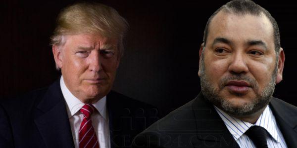 محمد السادس مكاينش فقائمة القادة اللي رسلو هدايا لدونالد ترامب
