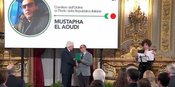 بالفيديو. رئيس إيطاليا عطا وسام لمغربي نقذ طبيبة من القتل