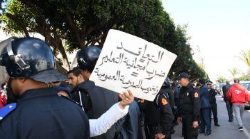 """التعليم مهدد بـ""""الشلل"""".. انتفاضة """"المتعاقدين"""" مستمرة والنقابات دايرا اضراب 3 أيام"""
