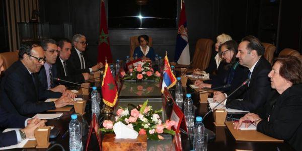 """بعدما سحبات اعترافها بـ """"البوليساريو"""". صربيا كتدرس مع المغرب إنشاء منطقة للتبادل الحر"""