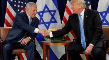 ترامب: جا الوقت للاعتراف الكامل بسيادة إسرائيل