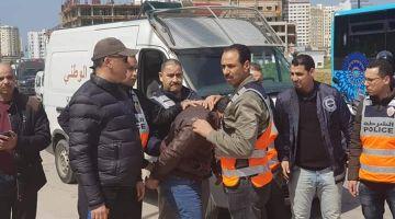 بالصور. إعادة تمثيل جريمة قتل مصري لمغربي بضواحي طنجة