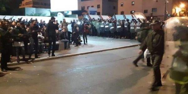 """عصيد لـ""""كود"""": استهداف المتظاهرين هو اعتراف من السلطة بالفشل فتدبير الملفات المطلبية"""