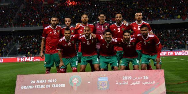 بالصور. ماتش المغرب والارجنتين وخسارة الاسود ب 0-1