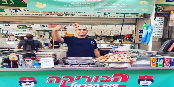 بالصور. القذافي رجع ماركة ديال مطعم فإسرائيل