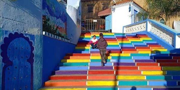 دروج بألوان المثليين في الشاون.. غادي تنوض روينة