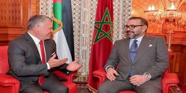 المغرب لملك الاردن: حنا معاك فاللي درتيه