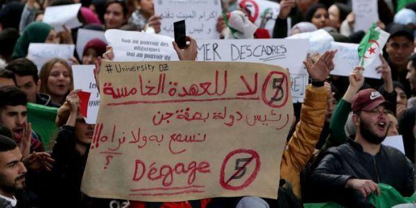 الاسلاميون ف الجزائر: بوتفليقة خصو يمشي فحالو والحراك غايستمر ضد العهدة الخامسة