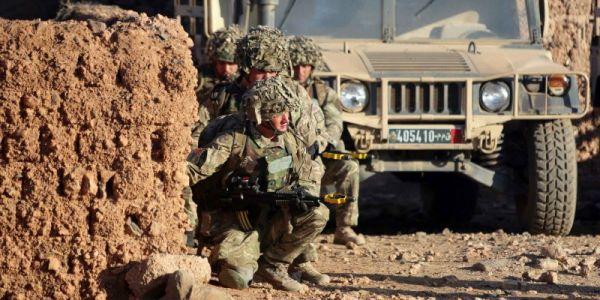 مناورات عسكرية ضخمة جديدة كتوجد فشرق المغرب