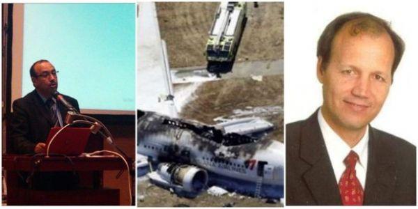الطلبة ديال الاستاذ لي مات في الطيارة الايثيوبية دارو وقفة صامتة في كازا