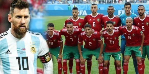 رسميا. ميسي ملاعبش فماتش المغرب والأرجنتين