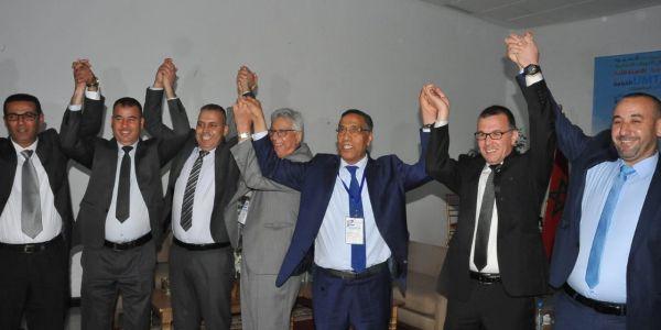 موخاريق يخلف نفسه على رأس نقابة UMT لولاية تالثة وأنهى أشغال المؤتمر الوطني