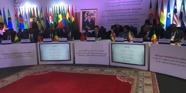 ناصر بوريطة للوزراء الأفارقة : الأمم المتحدة هي المسؤول الوحيد عن ملف الصحرا وما كاين حتى حد يقدر يدخل معاها فيه